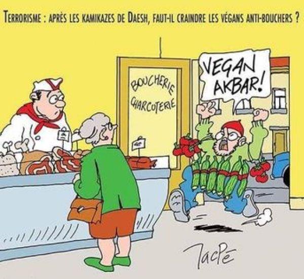 terrorisme vegan akbar